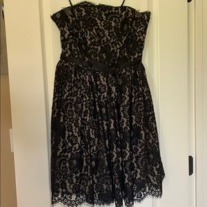 Target by Neiman Marcus Strapless Lace Dress